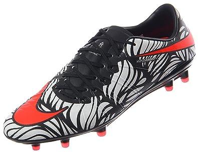 premium selection c320a 367d1 Amazon.com | Nike Men's Hypervenom Phinish NJR Fg Black ...