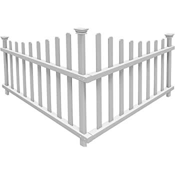 Amazon Com Zippity Outdoor Products Zp19001 Picket Fence