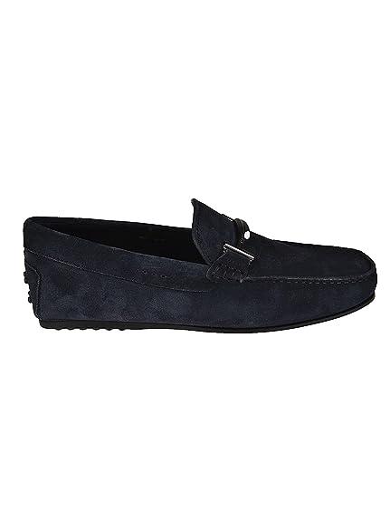 ad147264402 Tod s Men s Xxm0lr0q700re0u805 Blue Suede Loafers  Amazon.co.uk ...