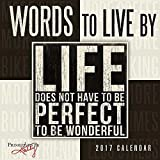 Words to Live By 2017 Mini Calendar