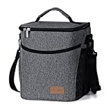 Toys : Lifewit Insulated Lunch Box Lunch Bag for Adults / Women / Men, Large Capacity Thermal Bento Bag for Office / School / Picnic, 9L, Grey
