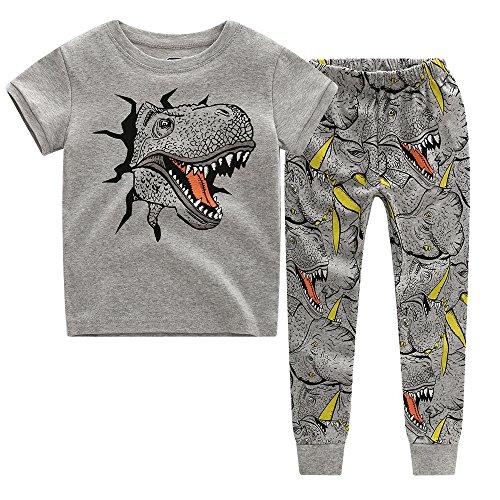 CNBABY Dinosaur Toddler Pajamas Sleepwear