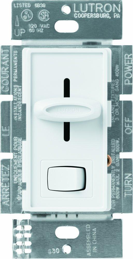 Lutron SCL-153PH-WH 4 Pack Skylark Incandescent Dimmer, White