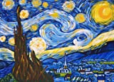 "Van Gogh A STARRY NIGHT Paint by Number Kit 11"" x 14"""
