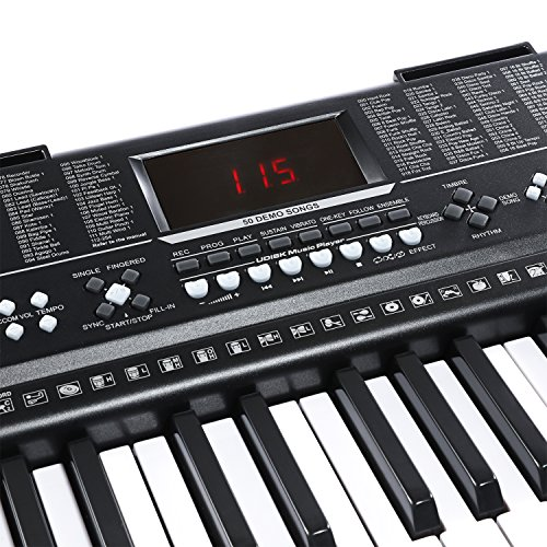 Joy JK-63M 61-Key Standard Electronic Piano Keys Keyboard With USB