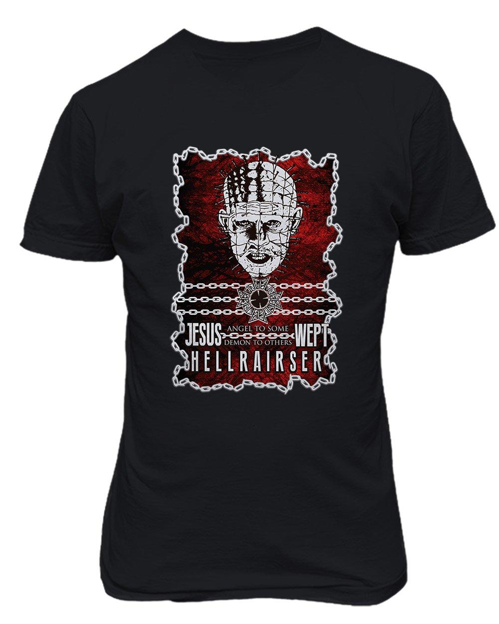 New Graphic Horror Hellraiser Novelty Jesus 5460 Shirts