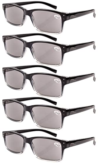 260272906b09 Image Unavailable. Image not available for. Color  Eyekepper 5-pack Spring  Hinges Vintage Reading Glasses ...