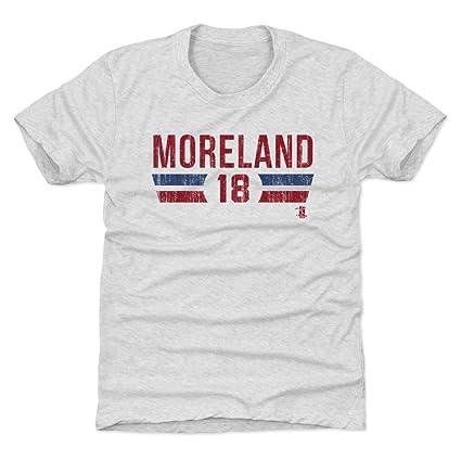 new concept b3030 79a6e Amazon.com : 500 LEVEL Mitch Moreland Boston Baseball Kids ...