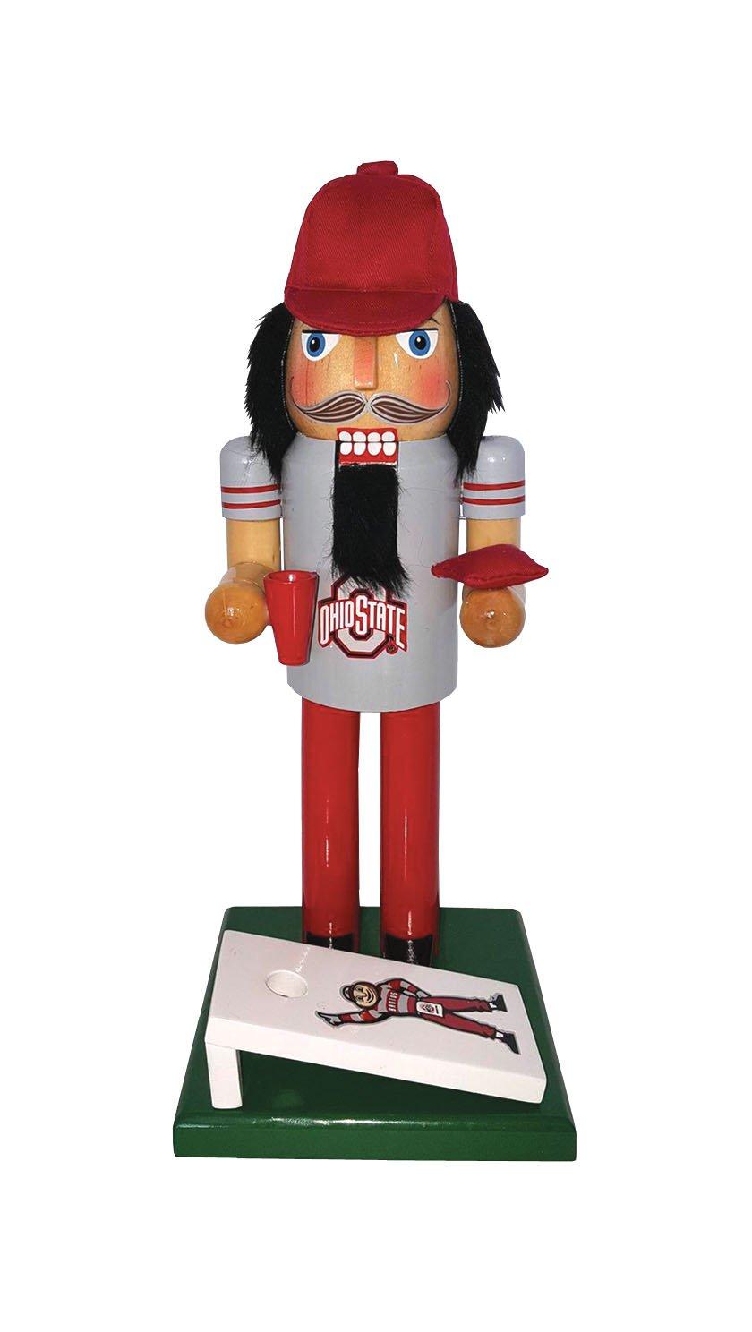 Santa's Workshop OHB095 Ohio State Nutcracker Fan, 12'', Multi