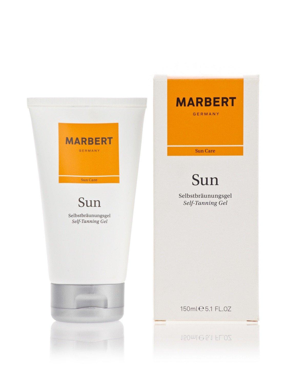 Sun Self Tanning Gel 150 ml Gel auto-abbronzante per Viso e Corpo Marbert 4085404540075