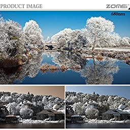 ZOMEi 67MM IR 720 GLASS Infrared X-Ray Filter