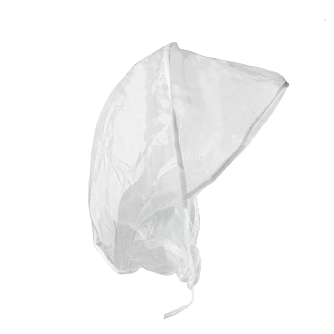 rainstopper Mujer de Lluvia Impermeable Transparente Gorro Sombrero Transparente transparente Talla única