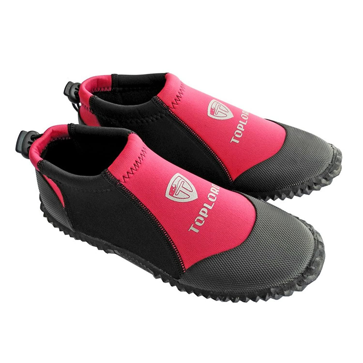 A Point Snorkeling Suit Premium Neoprene 3mm Low Top Pull On Boot Water Shoes