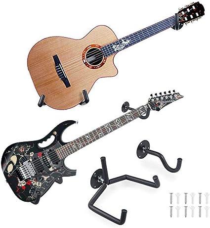 Kaersishop Colgador para guitarra, soporte para gancho para ...