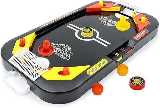 ZXX. Mini Arcade Air Hockey Table, Air Powered Hockey Table Table ...