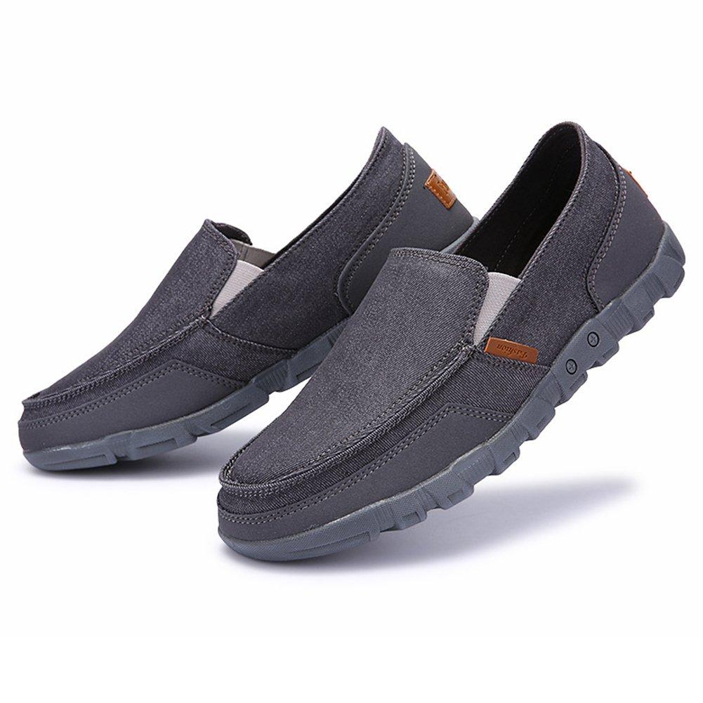 01b10fc77956 Juleya Herren Mokassins Loafers Slip-on Schuhe - Männer Halbschuhe Slippers  Sommerschuhe Freizeitshcuhe Stoffschuhe Canvas Sneaker Bootsschuhe ...