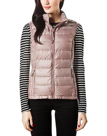 55f319d950b7d XPOSURZONE Women Packable Lightweight Down Vest Outdoor Puffer Vest