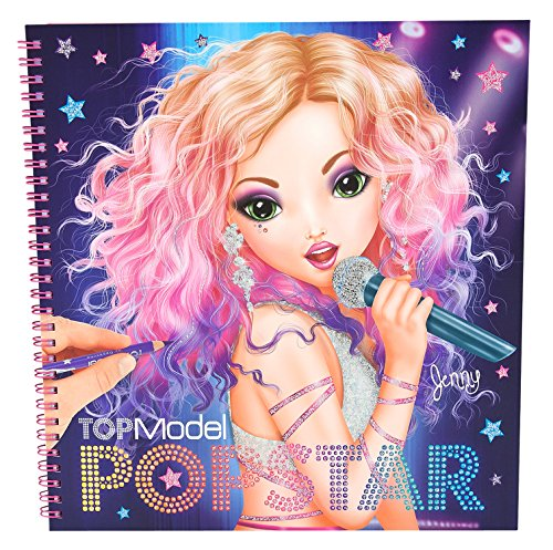 Popstar top model album coloring buy online in uae toy products in the uae see prices - Top model livre de dessin ...