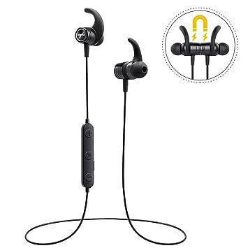 Mpow S10 Bluetooth Auriculares Deportivos, Resistente al Agua IPX7 Auriculares en Ear, 8 –