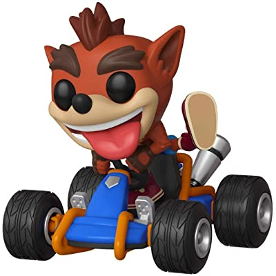 Funko Pop! Rides: Crash Team Racing - Crash Bandicoot: Toys & Games
