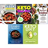 Books : Set of 5 books collection : Keto Diet: Your 30-Day Plan to Lose Weight,The Beginner's KetoDiet Cookbook,Complete KetoFast ,The One Pot Ketogenic Diet Cookbook,The Keto Crock Pot Cookbook For Beginners