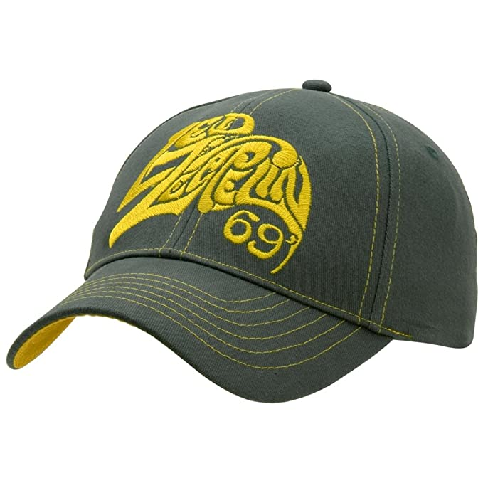 Led Zeppelin - 69 Logo Adjustable Cap  Amazon.ca  Clothing   Accessories 6736b7a851c