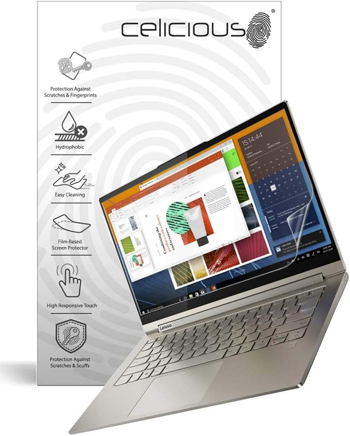Celicious Impact Anti-Shock Shatterproof Screen Protector Film Compatible with Lenovo Yoga C940 14