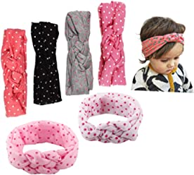 JMITHA Bébé Fille Bow Bandeau Turban Lapin Bandeaux élastique serre-tête  Wrap Photographie Belles Cheveux 7cda5ca0895