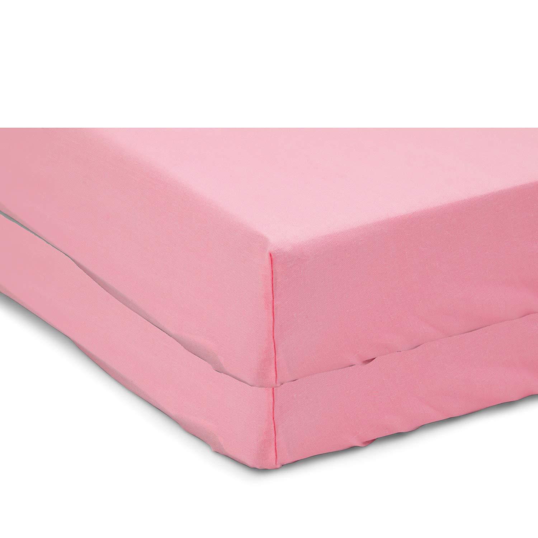 Pink Babydoll Bedding Moses Basket Set of 2 Sheet 13 x 27