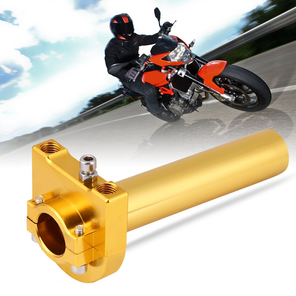 7//822mm Manubrio Throttle Twist Grips Accelerator per moto Scooter Dirt Bike Black KIMISS KI6005 Universal Throttle Twist Grips