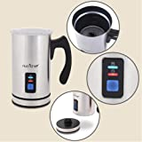 NutriChef Upgraded Dual Electric Milk Frother and