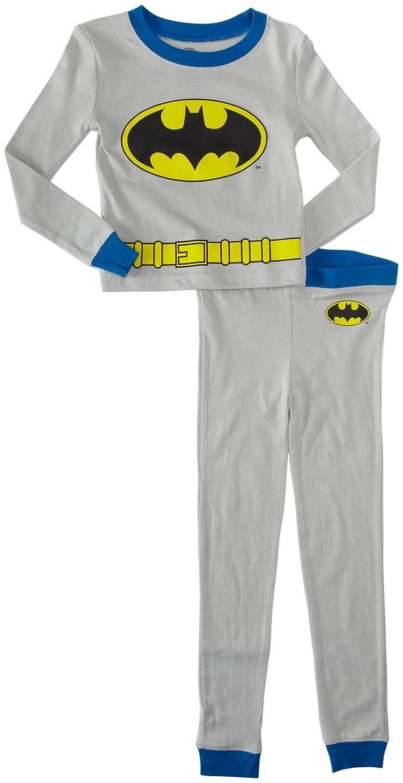 DC Comics Little Boys' 2 Piece Batman PJ Set Toddler Kid Blue 2T