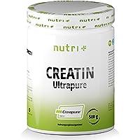 Creapure 500g - KREATINMONOHYDRAT - 99,99% rent - högsta doseringen - Ultrafine Creatine Neutral - Nutri-Plus Creatine…