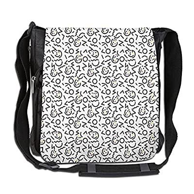 Lovebbag Colorful Dots With Black Border Like Lines Geometrical Shapes Crossbody Messenger Bag free shipping