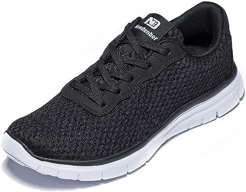 Anbenser Mens Lightweight Walking Shoes