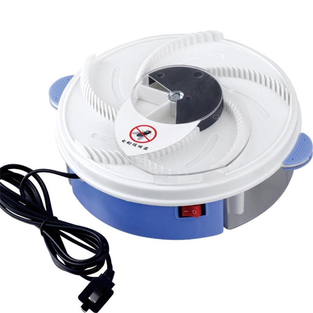 Sonmer Electric Fly Trap Device,With Trapping Food