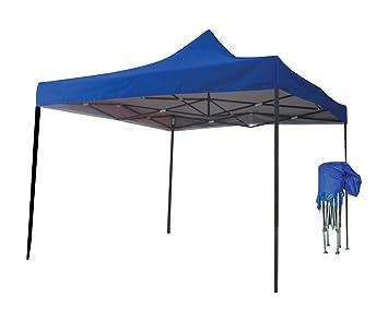 Just Relax Folding Gazebo Canopy Blue 10x10 Feet  sc 1 st  Amazon.com & Amazon.com : Just Relax Folding Gazebo Canopy Blue 10x10 Feet ...