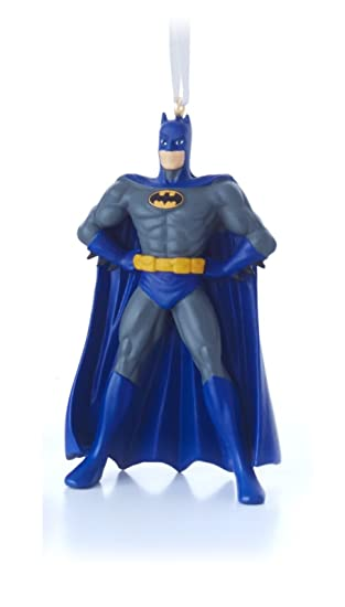 Amazon.com: Hallmark Batman Christmas Tree Ornament: Home & Kitchen