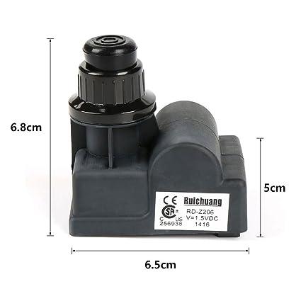 """HLC Gas Grill piezas de repuesto 6 Outlet """"AA recargable Empuje botón encendedor dispositivo"""