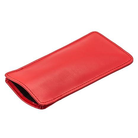 Pepper - Estuche para gafas, Rojo