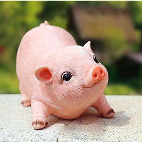 amazon com pig home decor patio lawn garden outdoor décor garden