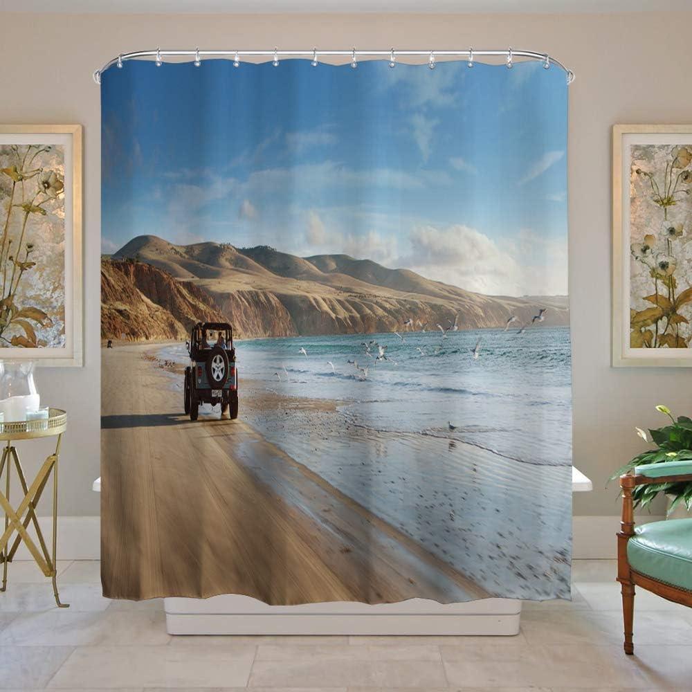 alpha-grp.co.jp Home & Kitchen Bath - Blue Sea Water 150CM x 180CM ...