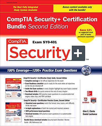 Download CompTIA Security+ Certification Bundle, Second Edition (Exam SY0-401) (Certification Press) Pdf