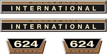 IHC Mc Cormick  Aufkleber international 824 Silber Logo Emblem Sticker Label
