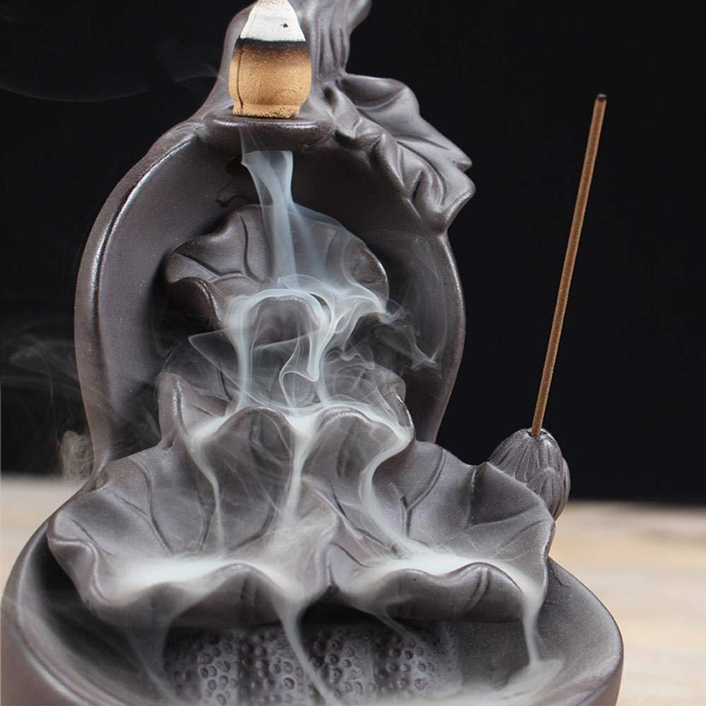 10PCS Incense Cones Incense Stick Holder for Home Office Decor Ceramic Incense Burner Backflow Incense Burner Holder