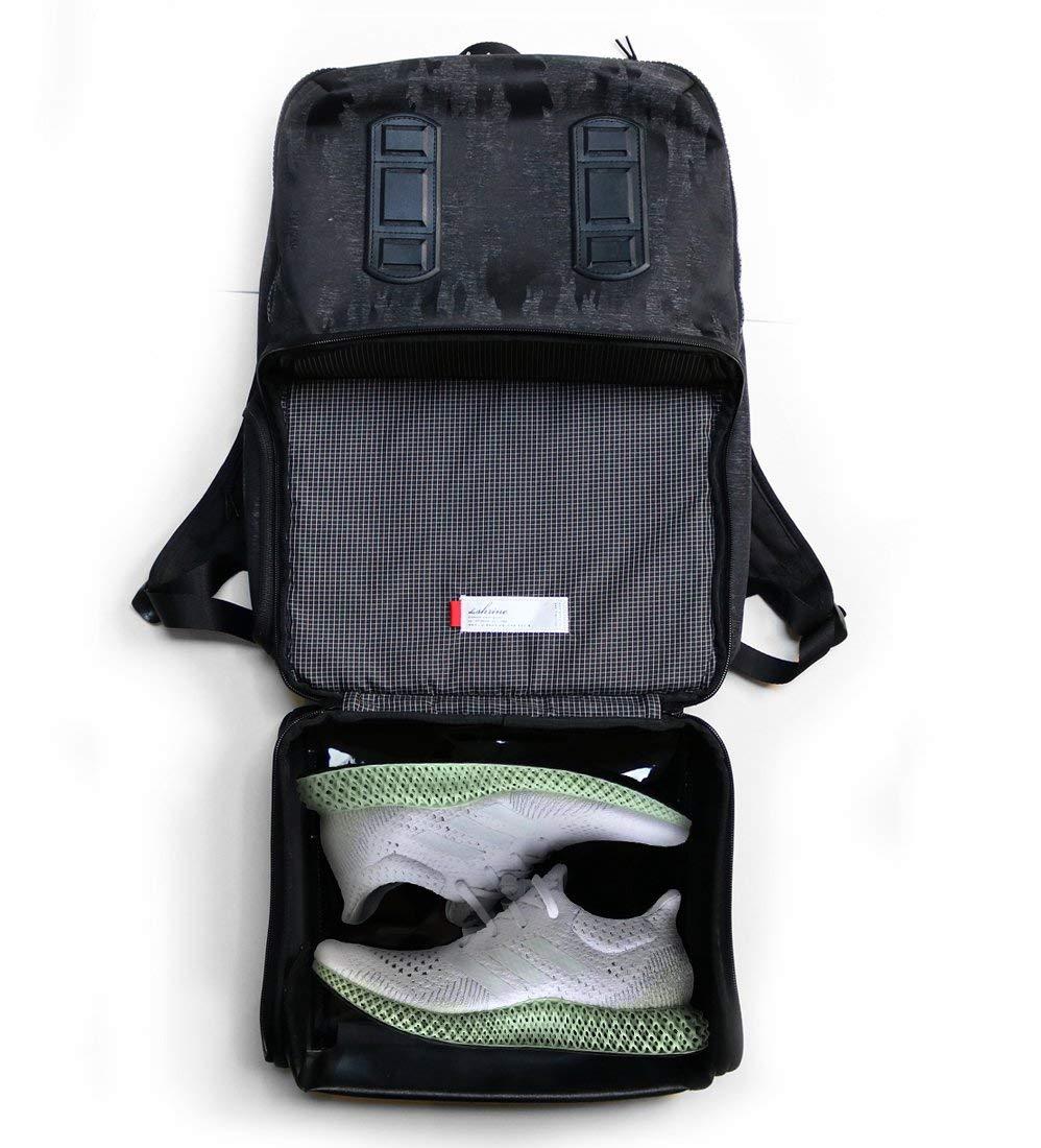 Shrine Sneaker Daypack Black Camo