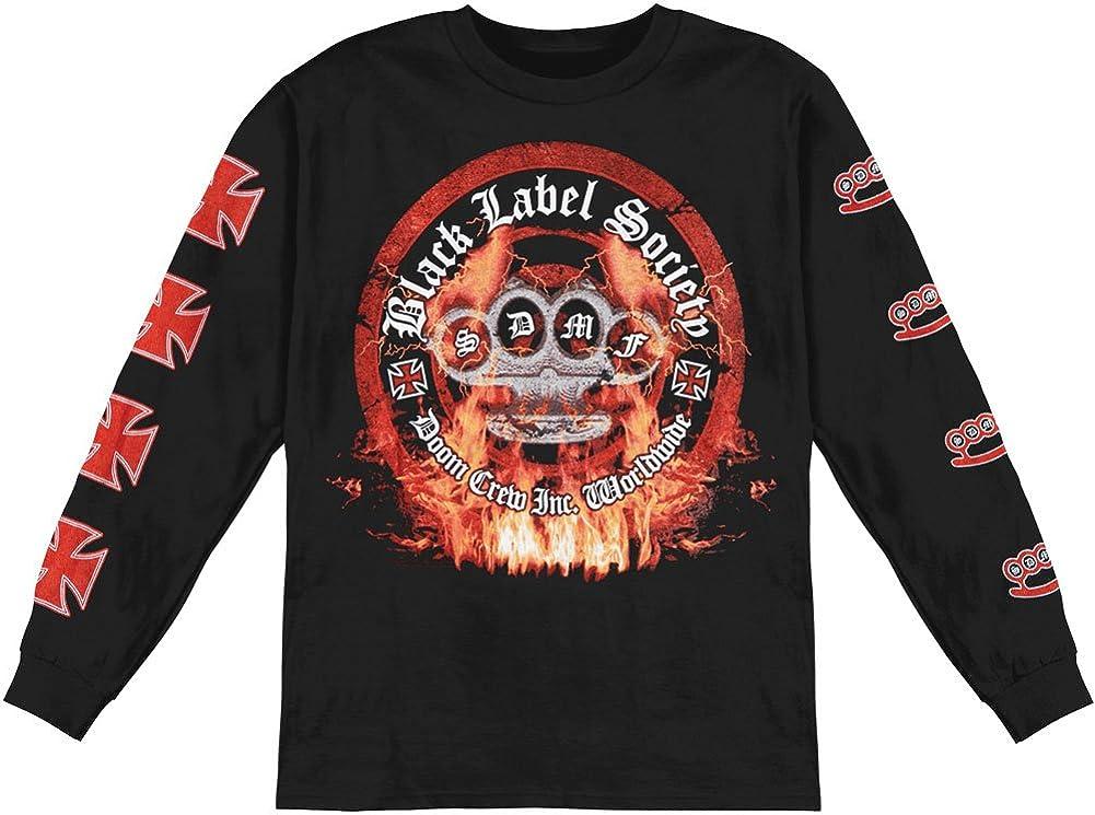 BLS Black Label Society Heavy Metal Band Logo Men/'s Black T-Shirt Size S-3XL