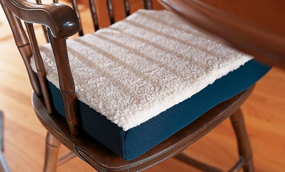 amazon com collections etc orthopedic gel seat cushion by