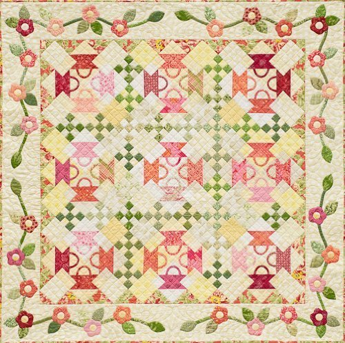 Amazon Com Baskets Blossoms Quilt Pattern By Alex Anderson Arts