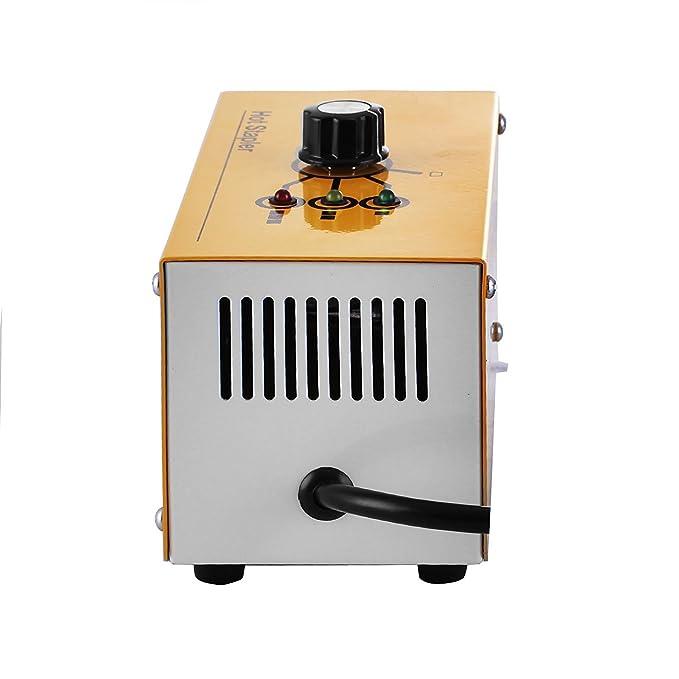 Autovictoria Soldadura de Plástico Conjunto de Recuperación Plástica Térmica Grapadora de Caliente con 600 Grapas y 20W Kit de Soldadura para Plástico para ...